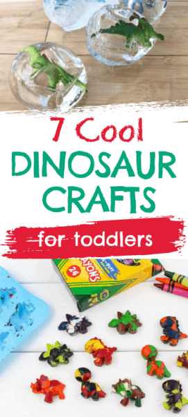 Dinosaur arts and craft activities for toddlers