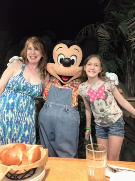 Farmer Mickey at Disney World