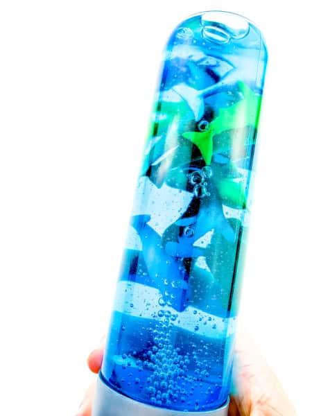 Ocean sensory bottle for kids