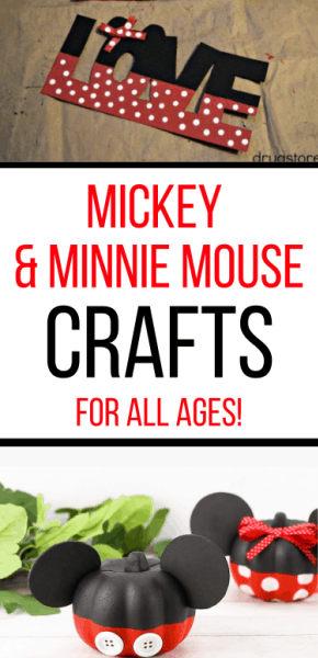 Mickey Mouse Craft Ideas for all ages